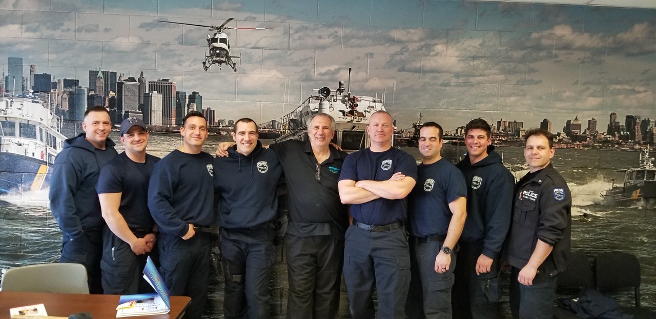 PSI/PCI course with the NYPD Scuba…